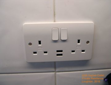 USB socket outlet Loughton Essex