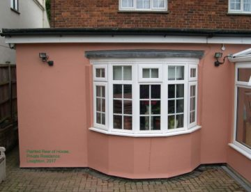 paint rear house Loughton Essex